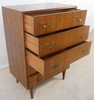 Tall Teak Chest of Drawers - SOLD